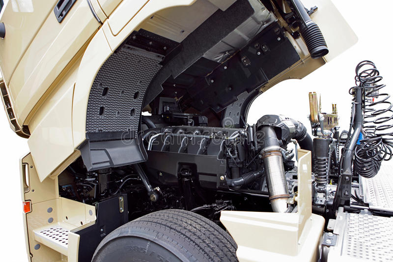 LKW-Maschine lizenzfreie stockfotos