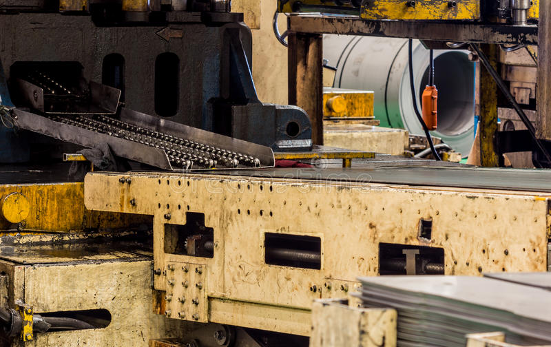 Maschinen in den Fabriken stockfotografie
