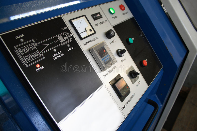 MaschinenBasissteuerpult stockbilder