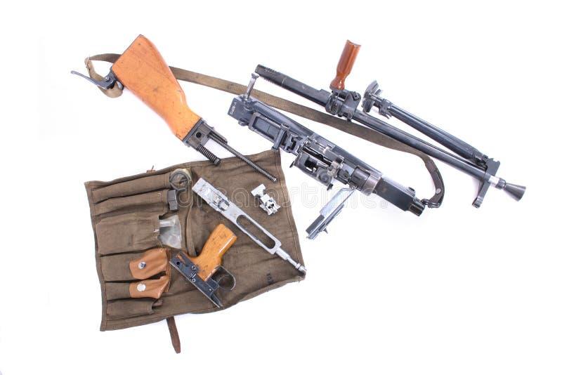 Maschinengewehr stockbild