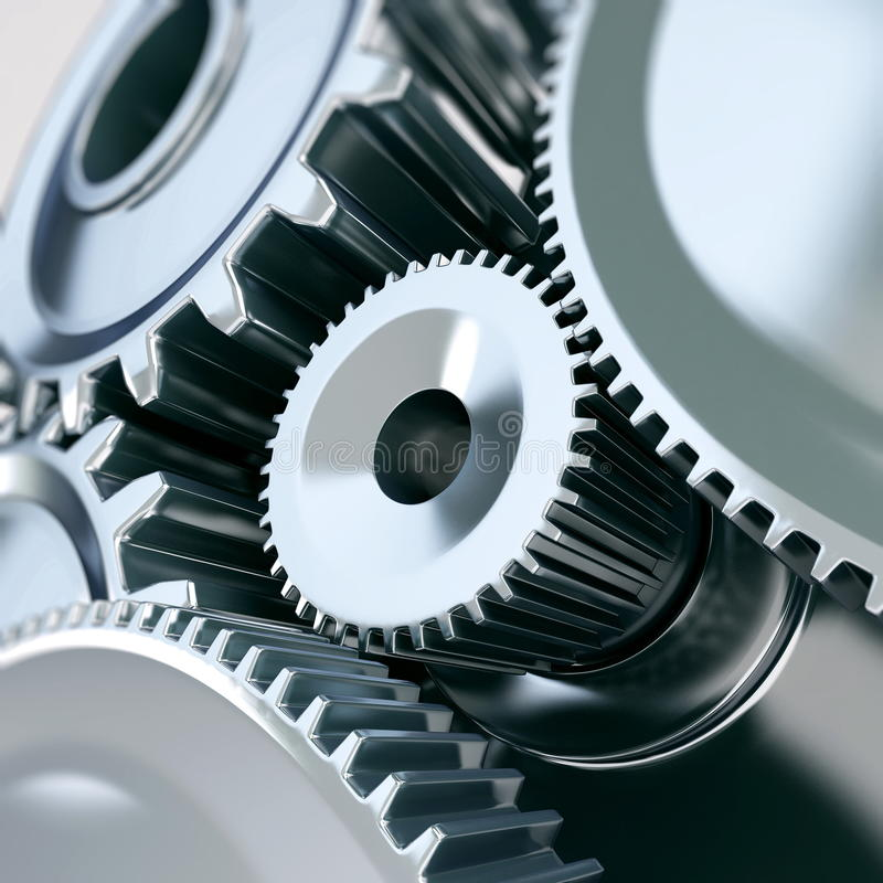 Maschinenindustrie lizenzfreie abbildung