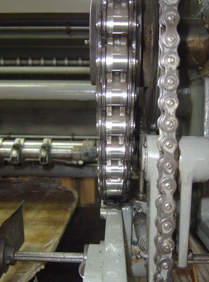 Download Maschinenketten stockfoto. Bild von presse, gang, schmierdienst - 27396