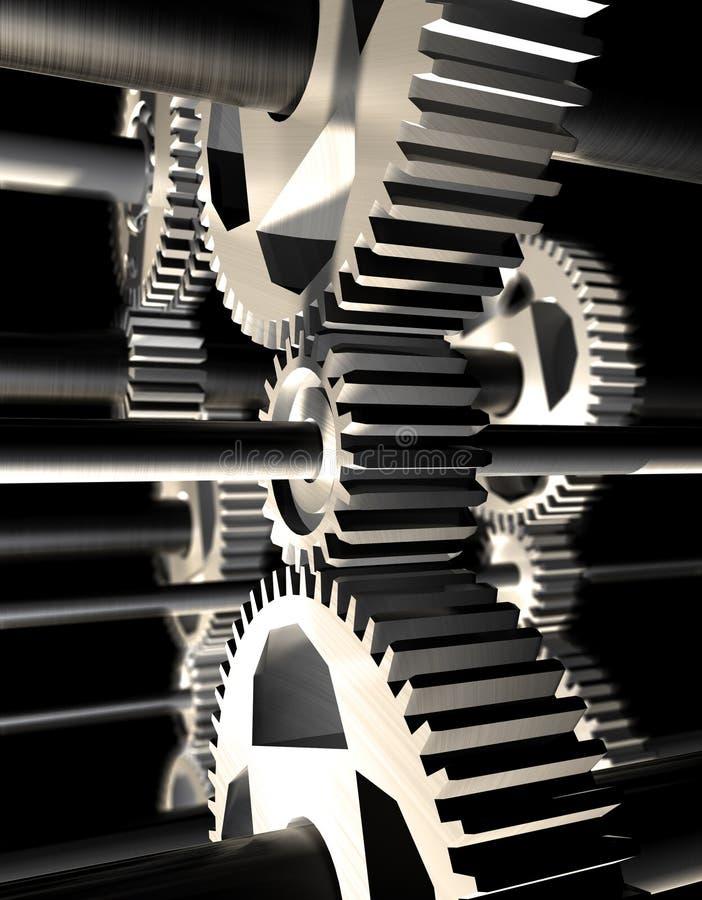 Maschinerie stock abbildung
