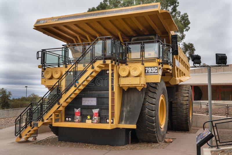 Maschinerie für Minenindustrie lizenzfreie stockfotos