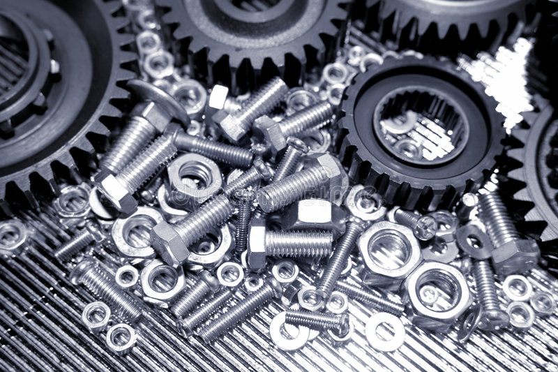 Maschinerie-Teile lizenzfreies stockfoto