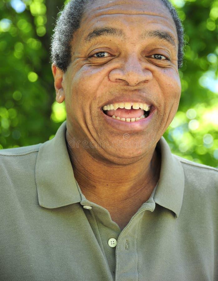 Maschio afroamericano fotografie stock