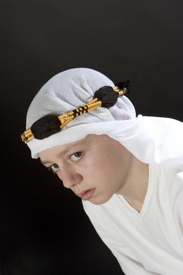 Maschio arabo immagine stock