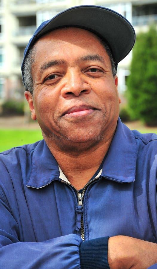 Maschio dell'afroamericano. fotografie stock libere da diritti