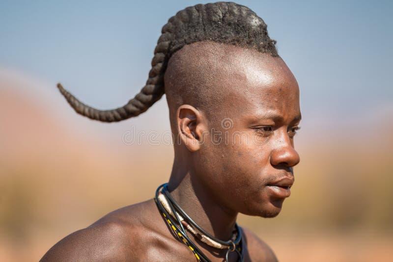 Maschio di Himba fotografia stock libera da diritti