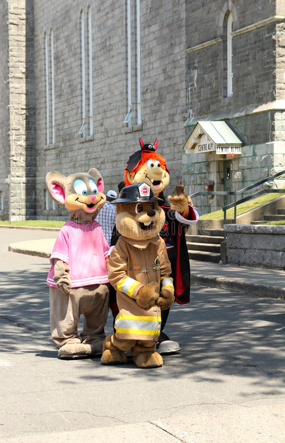 Download Mascot festival editorial photo. Image of kids, festival - 25893591