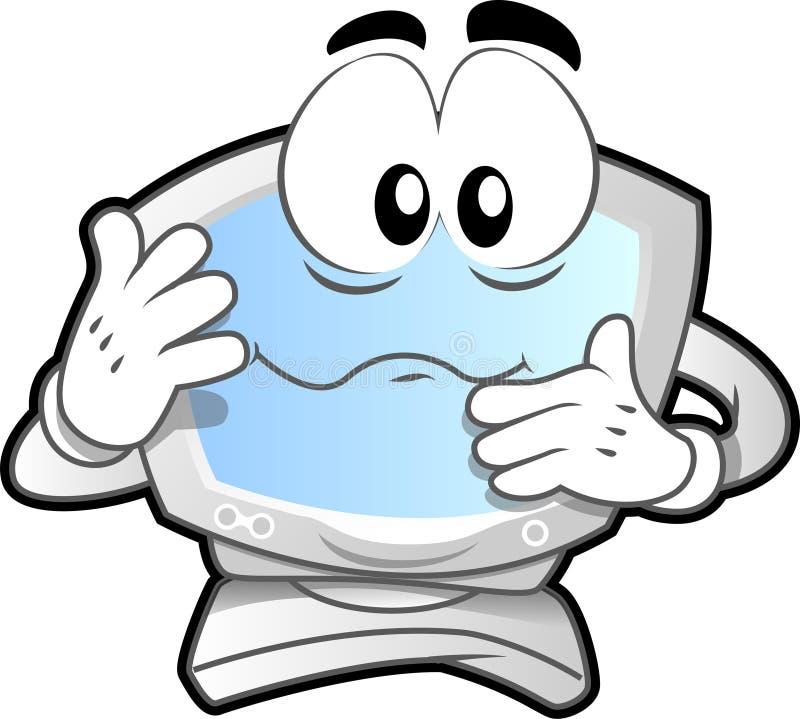 Mascota #1 del ordenador libre illustration