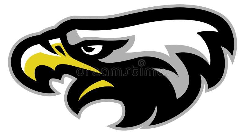 Mascota de la cabeza de Eagle ilustración del vector
