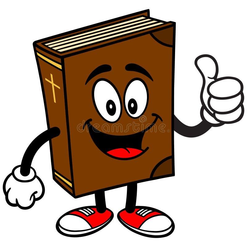 Fala Da Mascote Da Escola Da Biblia Ilustracao Do Vetor Ilustracao De Biblia Mascote 53667378