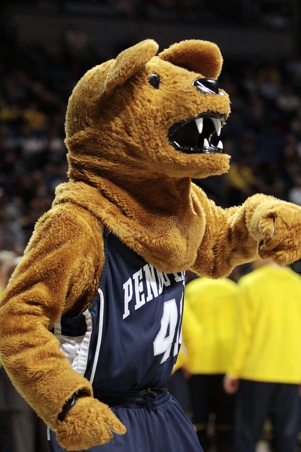 A mascote de Penn State o leão de Nittany foto de stock royalty free