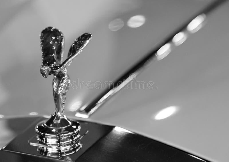 Mascote de Rolls royce foto de stock royalty free