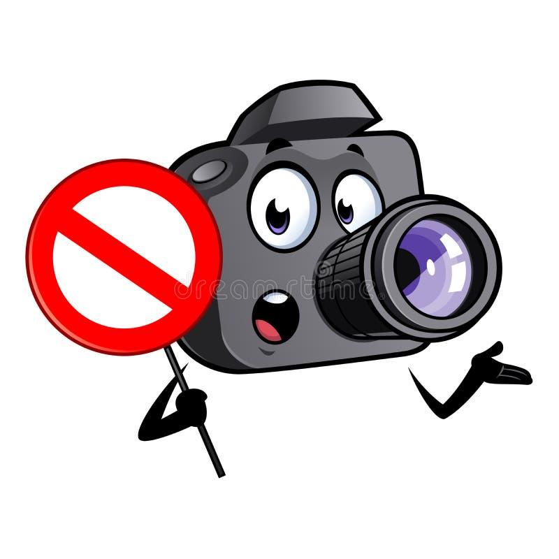 Mascotte della macchina fotografica del fumetto immagini stock libere da diritti