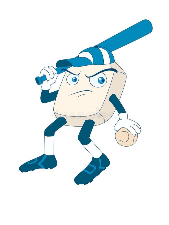 Mascotte di baseball immagine stock libera da diritti
