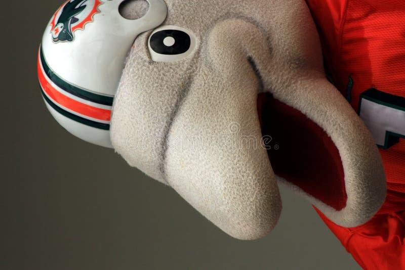 Mascotte NFL royalty-vrije stock fotografie