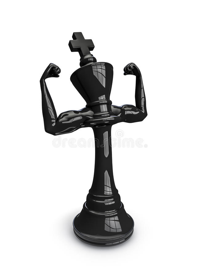 Download Masculine chess king stock illustration. Image of play - 28606361