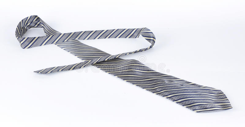Download Masculine Tie On A White Background Stock Photo - Image: 12750444