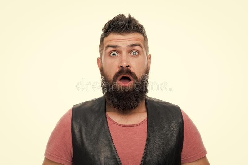 Masculinity concept. Barber shop and beard grooming. Styling beard and moustache. Fashion trend beard grooming. Masculinity brutality and beauty. Facial hair stock image