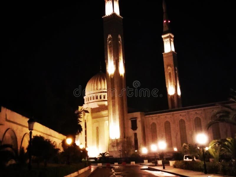 Masdjed alkabir kasantina algeria royalty free stock images