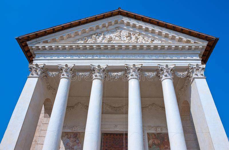 Veneto. The villas designed by architect Andrea Palladio royalty free stock photos