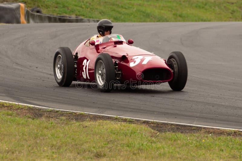 Maserati 250TF F1 race car royalty free stock photos