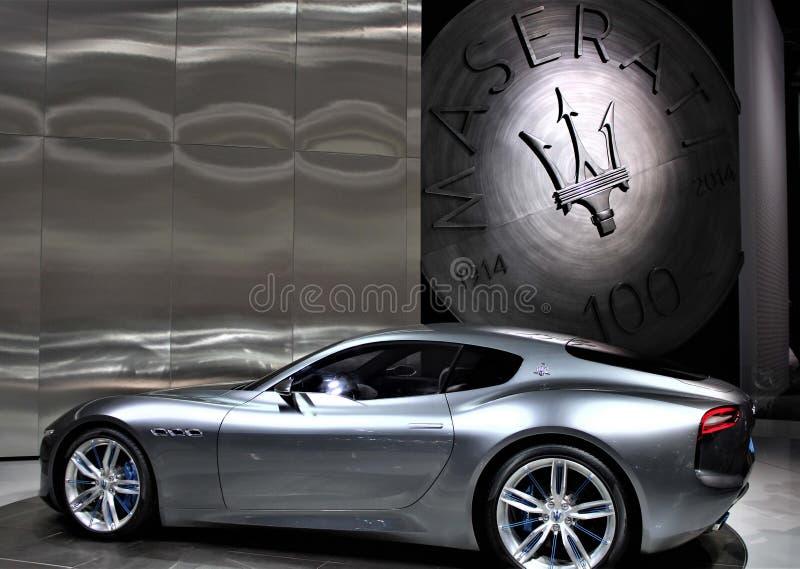 Maserati 2015 au salon de l'Auto de Detroit photos stock