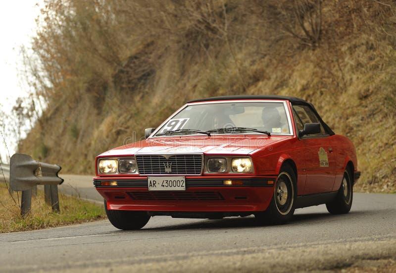 Maserati Biturbo Spyder lizenzfreie stockbilder