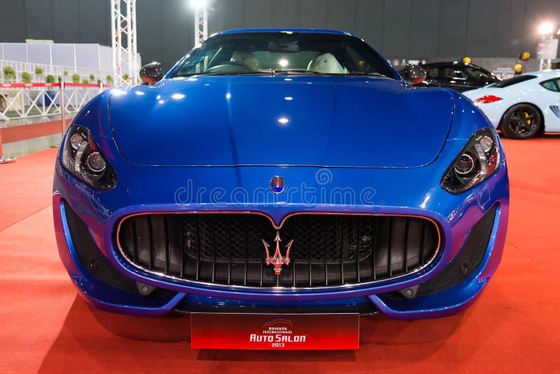 Maserati on display royalty free stock photography