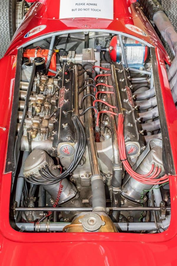 Maserati 250 F stock afbeeldingen