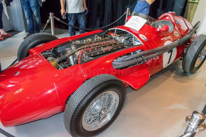 Maserati 250 F2 imagenes de archivo