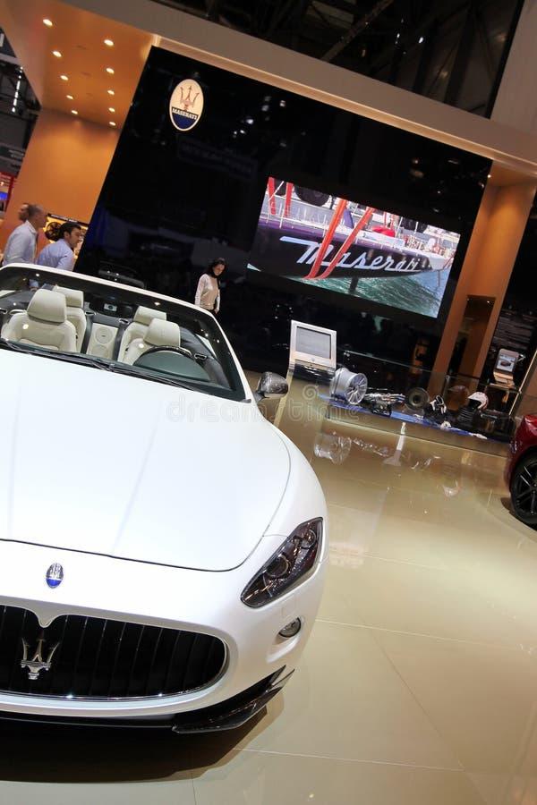 Download Maserati Gran Cabrio Sport editorial image. Image of power - 24012745