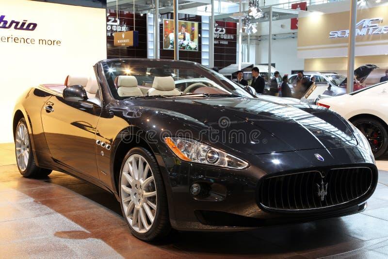 Download Maserati GranCabrio car editorial photo. Image of important - 14058316