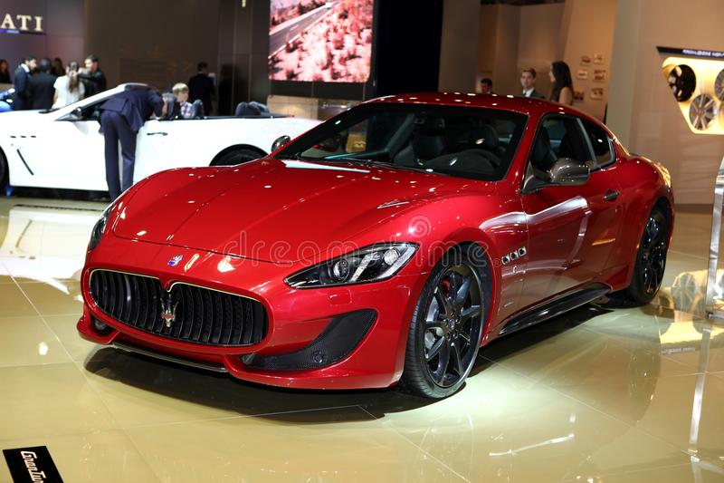 Maserati GranTurismo 库存图片