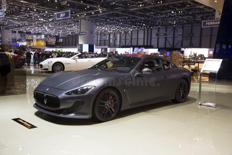 Maserati GranTurismo MC Stradale image libre de droits