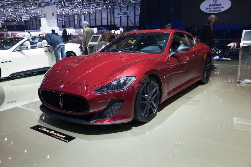 Maserati GranTurismo MC Stradale stock photography