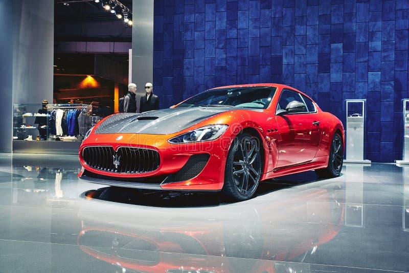 Maserati 2016 GranTurismo MC Stradale стоковые фотографии rf