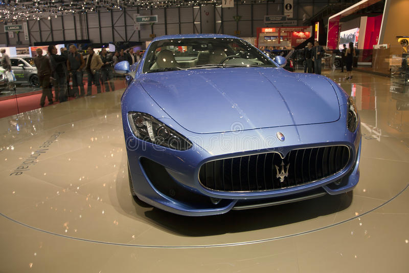 Maserati GranTurismo Sport 2013 royalty free stock image