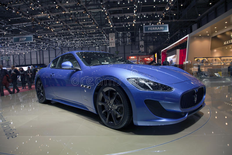 Maserati GranTurismo Sport 2013 royalty free stock photo