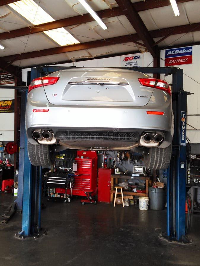 Maserati-hinteres Ende stockfoto