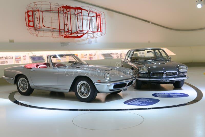 Maserati-Jahrhundertausstellung lizenzfreie stockbilder