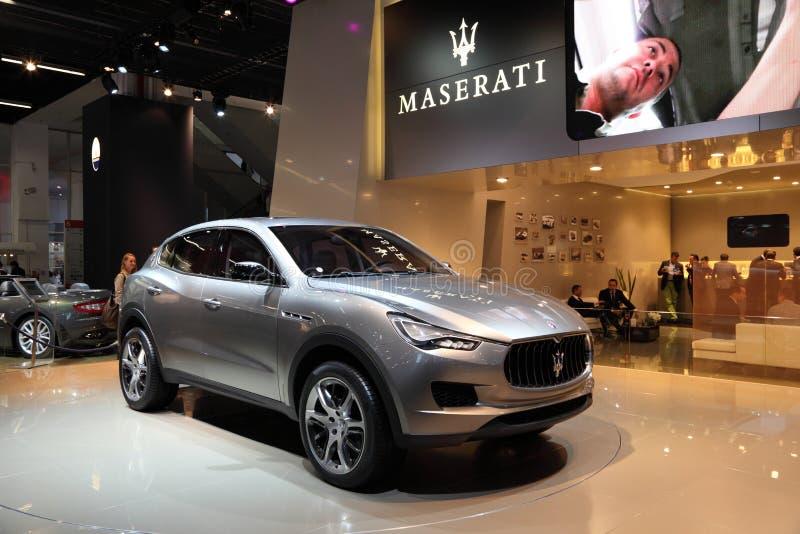 Download Maserati Kubang SUV editorial stock photo. Image of fair - 21311103