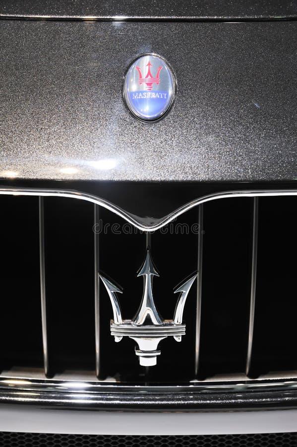 MASERATI logo royalty free stock photos