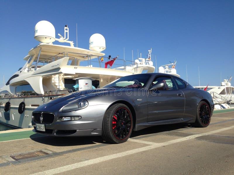 Maserati royalty free stock photos