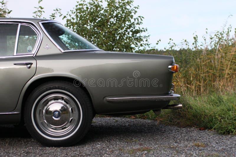 Maserati Quattroporte 1965 - που αφήνεται πίσω του αυτοκινήτου στοκ φωτογραφίες με δικαίωμα ελεύθερης χρήσης