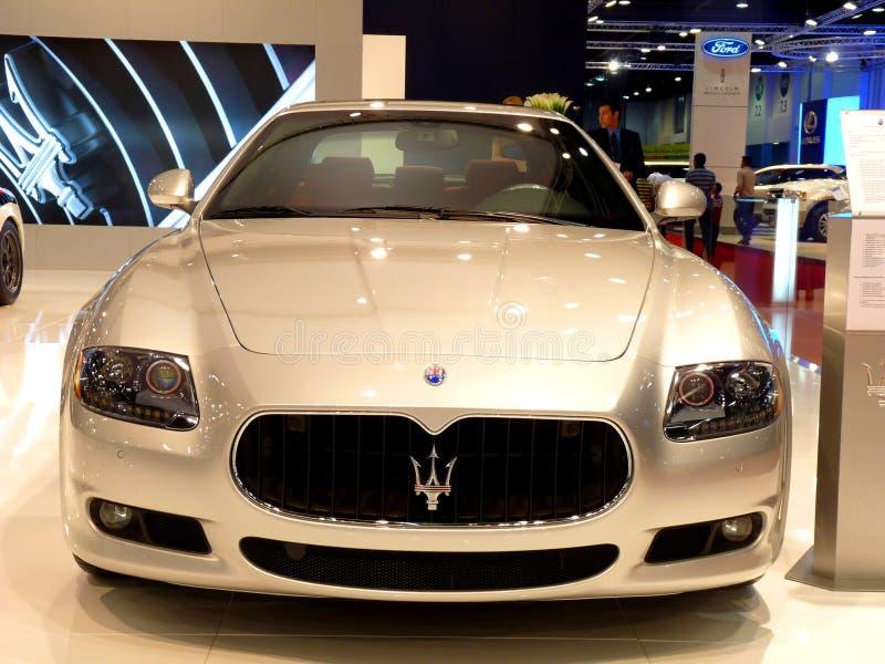 Maserati Quattroporte royalty free stock photo