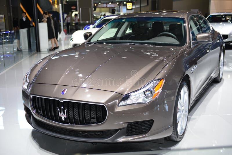 Maserati Quattroporte Sportscar στοκ εικόνα με δικαίωμα ελεύθερης χρήσης