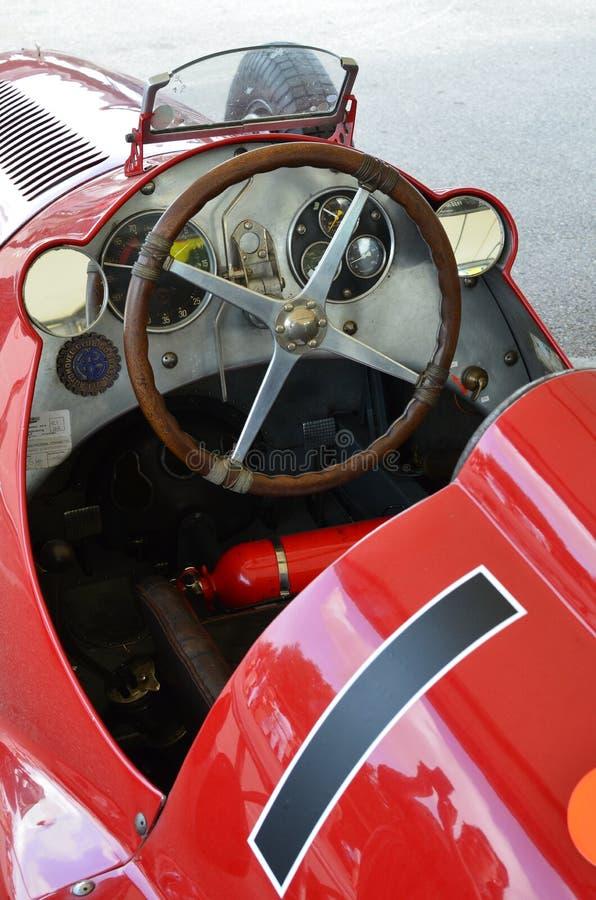 Maserati race car at the Goodwood Revival. royalty free stock photography